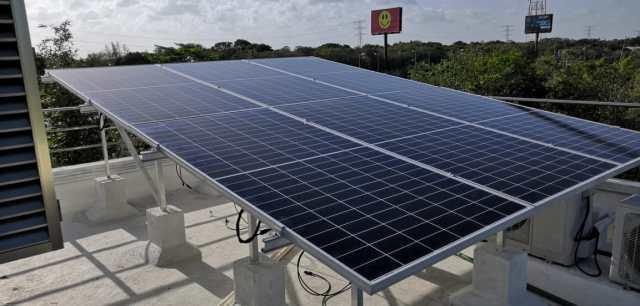 panel solar en puerto morelos