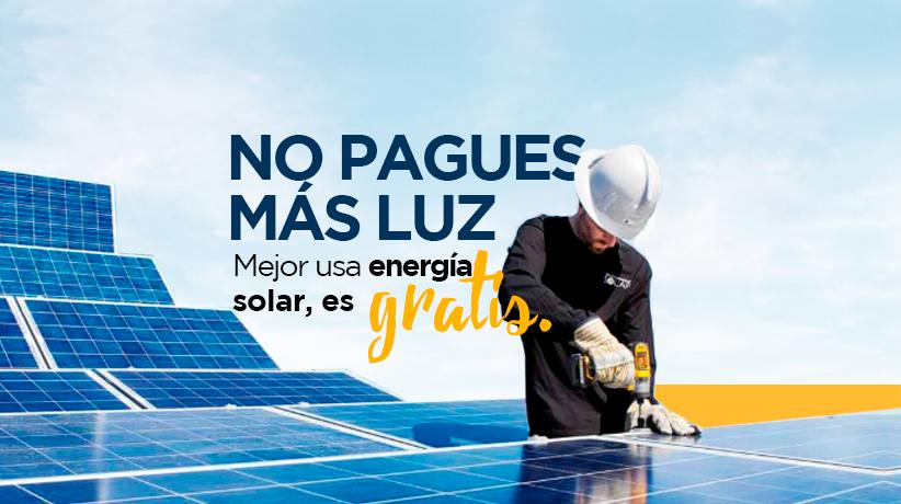 Solarizando México paneles solares