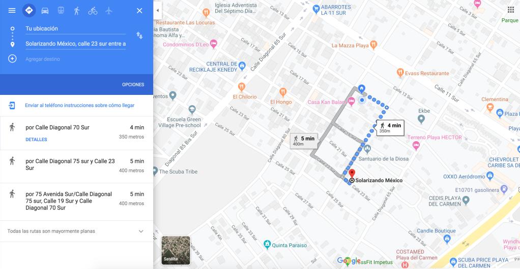 mapa de ubicacion solarizando mexico