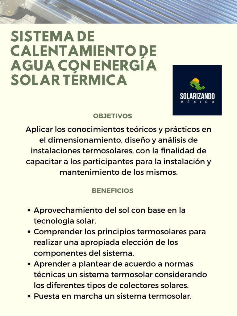 cursos de paneles solares solarizando mexico